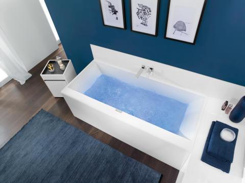 Entspannen mit Villeroy & Boch – Die aktuellen Whirlpoolsysteme, Außenwhirlpools und Saunen