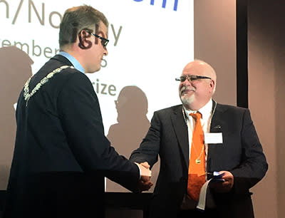 Nordic Light Rail Prize 2016 till Norconsults Thomas Potter