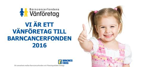 15 februari - Internationella barncancerdagen