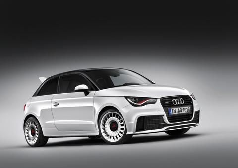 Audi A1 quattro – exklusiv upplaga