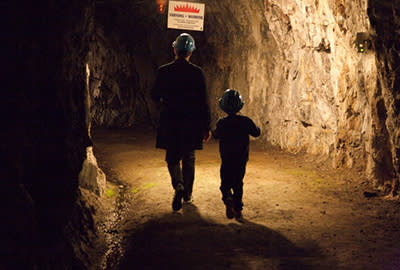 Höstlovsvisning av Sickla gruva!