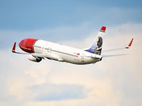 Norwegians Boeing 737-800 LN-NOI