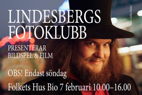Lindesbergs Fotoklubb visar bildspel och film på Vinterspår
