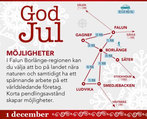 Missa inte vår julkalender