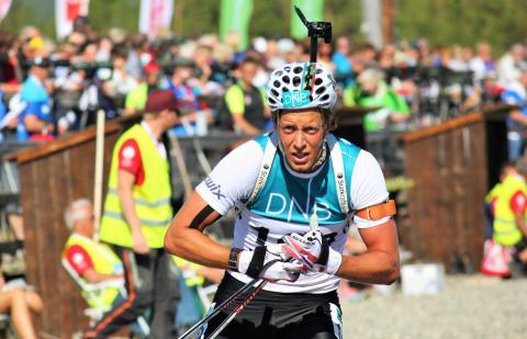 NM rulleskiskyting 2015 sprint Lars Helge Birkeland