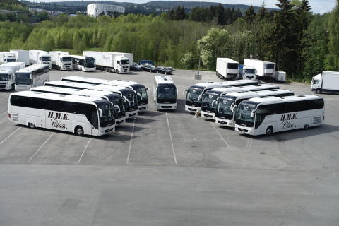 9 nye MAN Lions Coach til H.M. Kristiansens Automobilbyrå AS