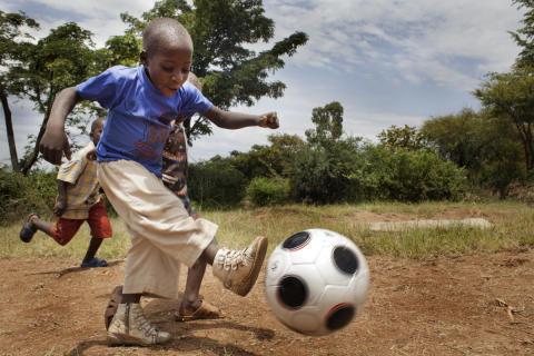 Fotboll förenar: nytt samarbete mellan UNICEF och Gothia Cup