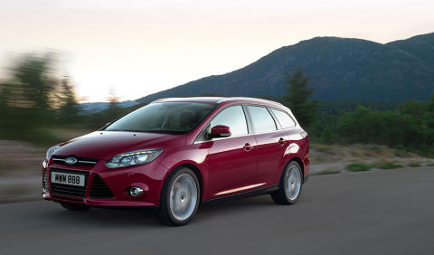 Nya Ford Focus utsedd till Årets Familjebil