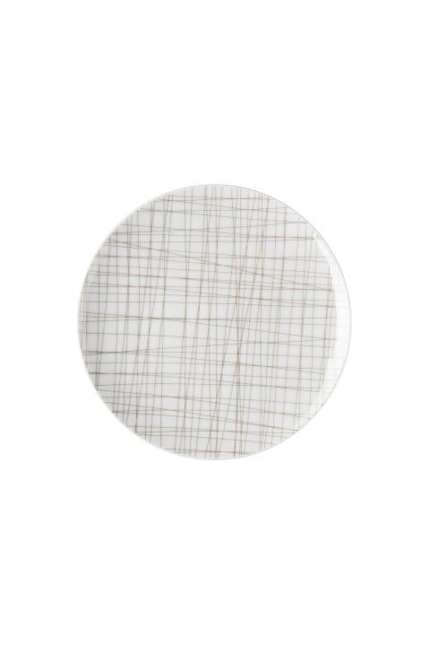 R_Mesh_Line Walnut_Plate 17 cm flat