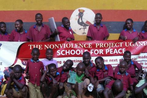 Non-violence project to help thousands of school students in Uganda