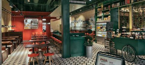 Snabbmatskedjan La Pasta Veloce växer och söker nya etableringar i Sverige