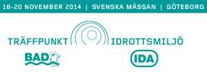 Träffpunkt Idrottsmiljö 18 – 20 november 2014. Träffa Malux på plats i Göteborg!