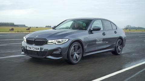 The BMW 3 Series - overall What Car? Safety Award 2020 winner