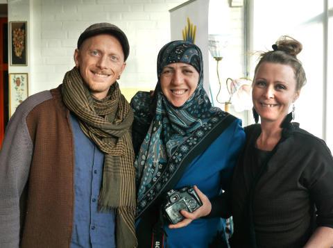 Johan Alexandersson, Zeina Doulani, Theres FrykstrandYallatrappa
