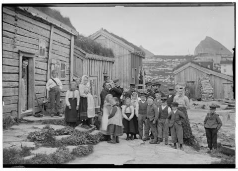 Befolkningen, en del, Trænen, Nordlands amt