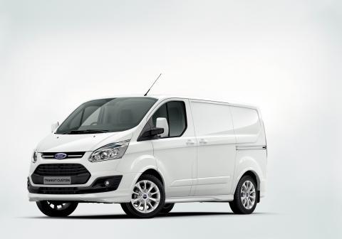 Ford Transit Custom vil bli vist for første gang på den internasjonale nyttekjøretøyutstillingen i Birmingham.
