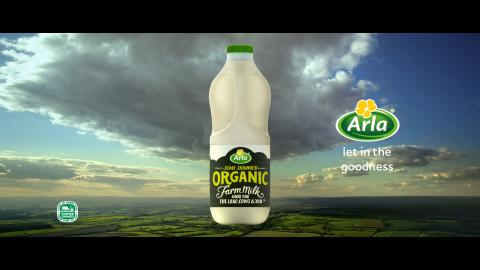 ​Arla launches new campaign to celebrate first branded organic milk range in the UK
