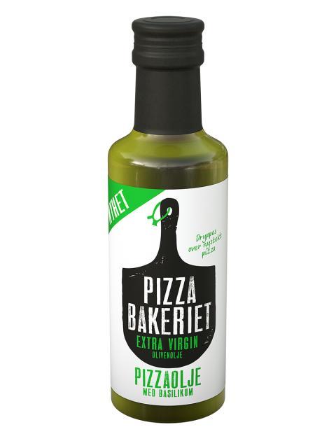 Pizabakeriet Pizzaolje med basilikum