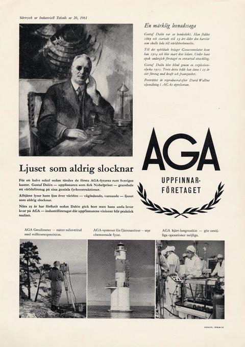 AGA - uppfinnarföretaget.