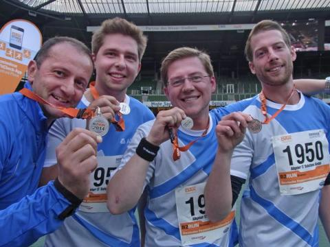 B2RUN: Allgeier Company Team in Bremen