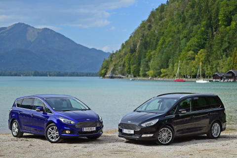 Ford Galaxy und Ford S-MAX