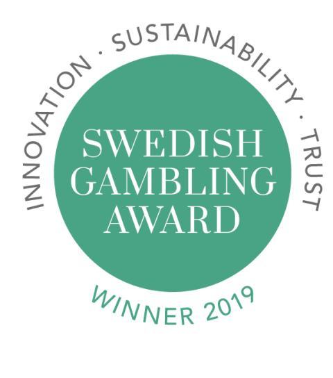 Vinnarna i Swedish Gambling Award skapar en mer hållbar spelbransch