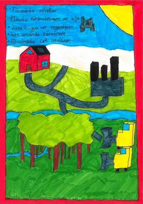 Miljöpris till 6 A Prästslättsskolan