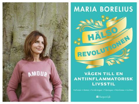 Maria Borelius utsedd till Årets Hälsohjälte!