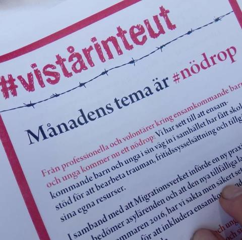 I Göteborg står de frivilliga organisationerna redo att börja jobba - var är ni, socialdemokrater?