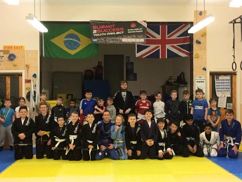 Teesside kids overcoming hardship thanks to Brazilian Jiu Jitsu