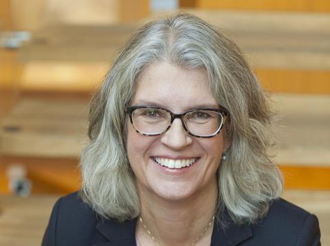 Helena Thelin är ny platschef för Pfizers bioteknologiska tillverkningsanläggning i Strängnäs