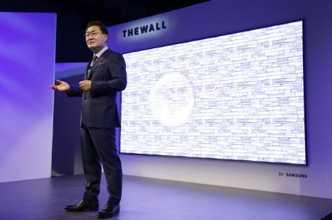 "Samsung ""The Wall"""