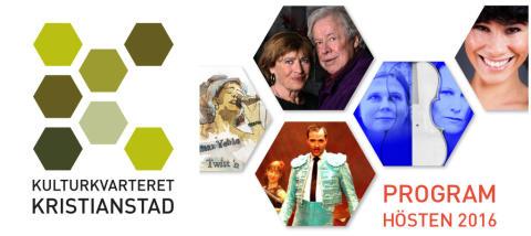 Musik, teater, humor och föredrag –  detta och mycket mer på Kulturkvarteret i höst!