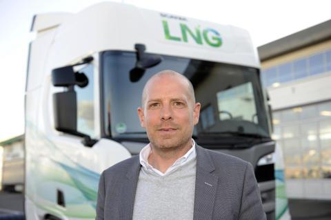 """""""Unser LNG-Fahrzeug läuft zuverlässig, leise und sparsam."""""""