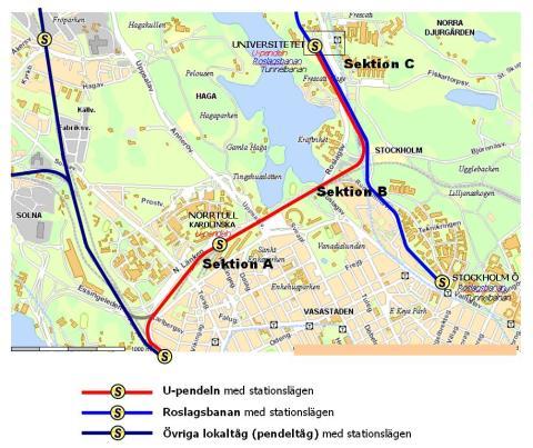 Bygg ny pendeltågslinje mellan Stockholms högskolor
