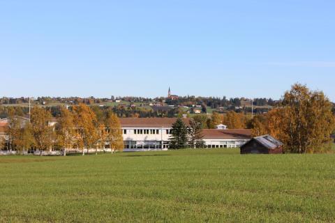 Tänkt plats för ny förskola i Myrviken
