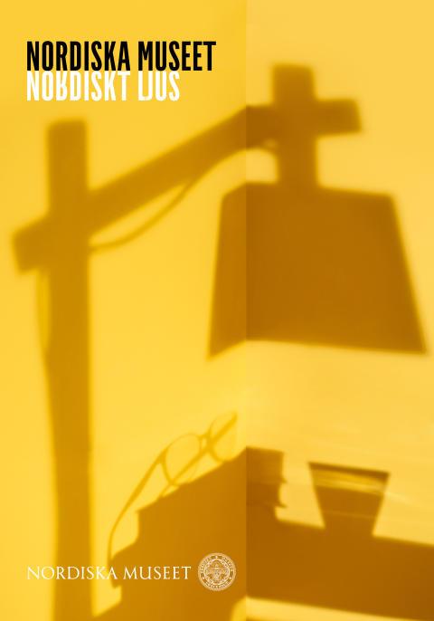 Utställningsaffisch Nordiskt ljus på Nordiska museet