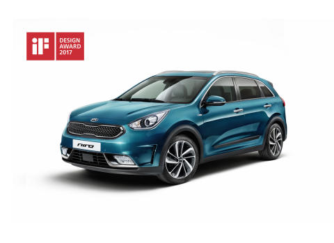 Kia Niro vinner iF Design Award 2017