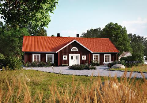 Färgkarta One - Cottage Red