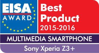 EISA 2015 Logo Sony Xperia Z3+