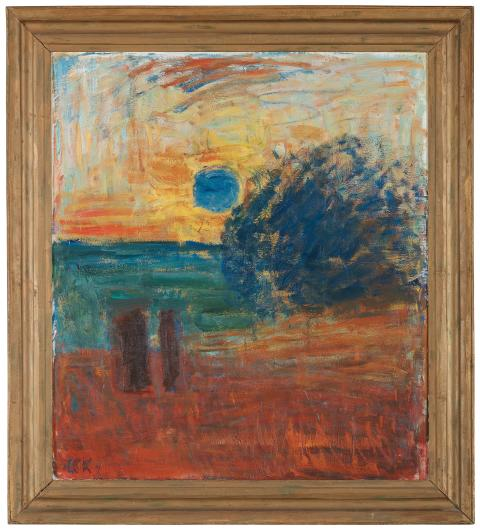 Carl Kylberg, Morgon vid havet (soluppgång)