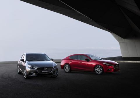 Mazda 3 2017 #hovedbilde