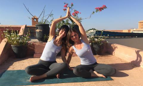 8 Tage Yoga Retreat Grünes Marrakesch Dezember 2017