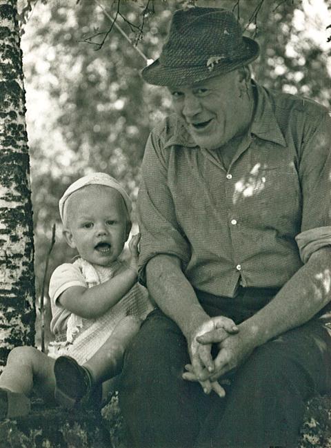 Roger Larsson och Gustav Segerqvist 1959