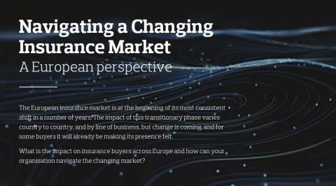 Aon anticipates further challenges for insurance buyers in Europe