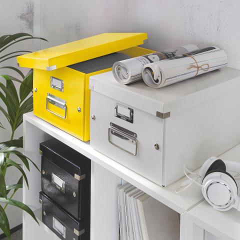 Leitz WOW 2.0 Click & Store gul vit svart