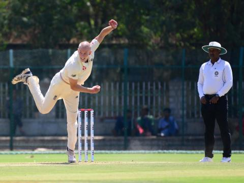England Lions face challenge to save second 'Test' against India A