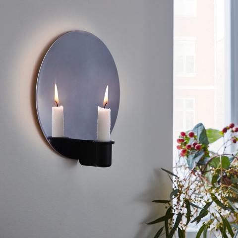 VÄRMER væglampet/lysestage 119.-