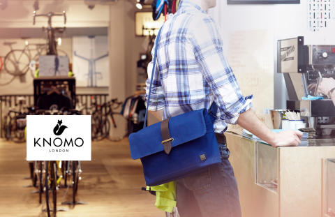 Herresmart! Knomo Troon Canvas taske til din laptop