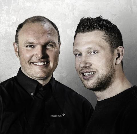 Tommy Lundekvam og Patrick Loe